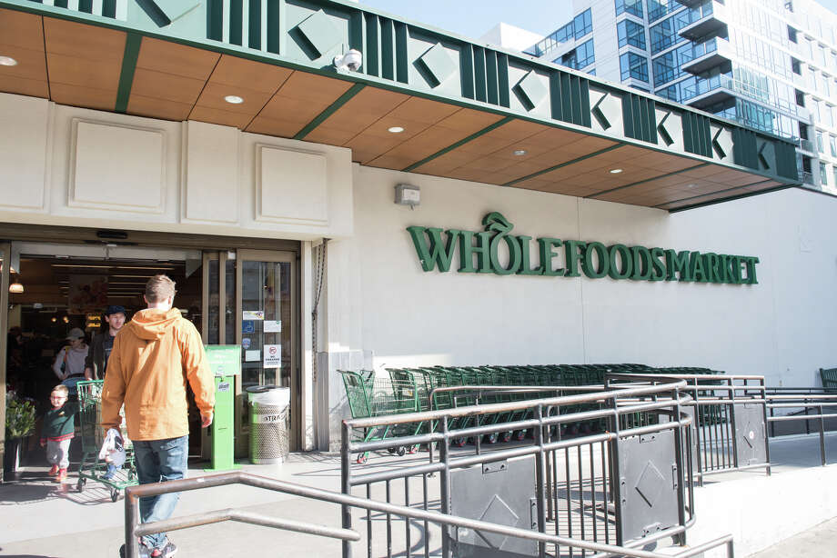 "Whole Foods is among the grocery stores receiving a failing grade from a watchdog group over how the company informs customers over food recalls. Other brands given an ""F"" include Trader Joe's, Safeway and Alberson's among other national supermarket chains. Photo: Blair Heagerty / SFGate"