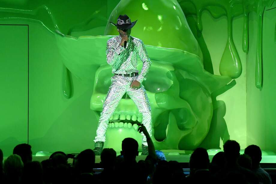 LOS ANGELES, CALIFORNIA - JANUARY 26: Lil Nas X performs onstage during the 62nd Annual GRAMMY Awards at Staples Center on January 26, 2020 in Los Angeles, California. (Photo by Kevork Djansezian/Getty Images) Photo: Kevork Djansezian/Getty Images