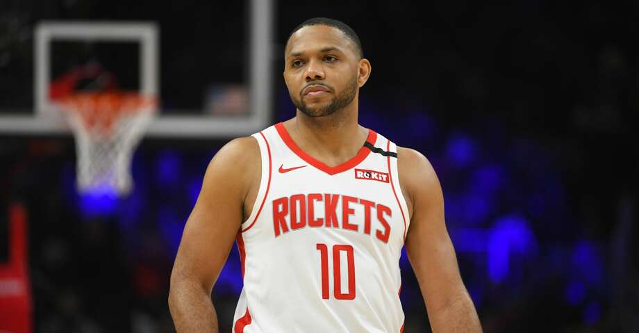 PHOTOS: Rockets game-by-game Houston Rockets guard Eric Gordon waits for Atlanta Hawks to take the court during an NBA basketball game Wednesday, Jan. 8, 2020, in Atlanta. (AP Photo/John Amis) Browse through the photos to see how the Rockets have fared in each game this season. Photo: John Amis/Associated Press