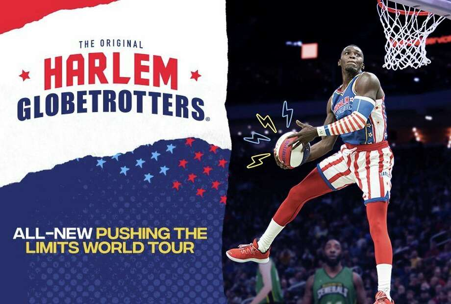 Monday, Jan. 27: The Harlem Globetrotters will bring their sport and play to The Dow Event Center in Saginaw. Showtime is 7 p.m. (Photo provided/Dow Event Center)