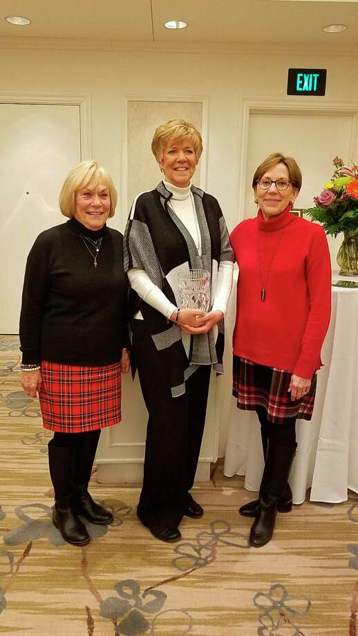 Pictured are, from left, Mary Stutelberg, Jan Yuergens and Maureen Donker. (Photo provided)