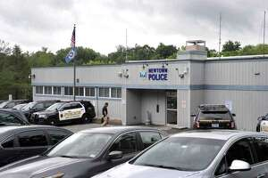 Police headquarters in Newtown, Conn.