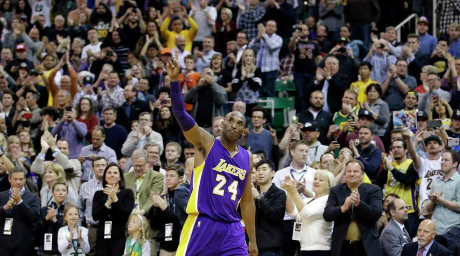 Kobe Bryant, an 18-time NBA All-Star who won five championships and became one of the greatest basketball players of his generation during a 20-year career with the Los Angeles Lakers, died in a helicopter crash Sunday. He was 41. Photo: Rick Bowmer /Associated Press File / Copyright 2020 The Associated Press. All rights reserved.