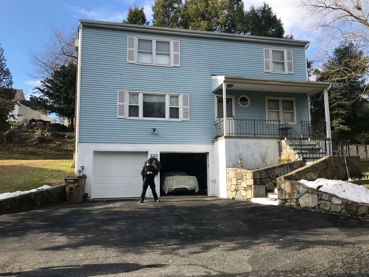 Police are investigating the deaths of two elderly people on Long Ridge Road Monday morning on Jan. 27, 2020. Sgt. Sean Boeger called the deaths of the man and woman at 506 Long Ridge Road