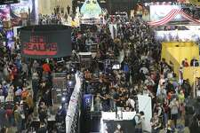 Gamers of all ages fill the Henry B. Gonzalez Convention Center for Pax South 2020 gaming exhibition on Saturday, Jan. 18, 2020. Game developers - big and small - presented their latest game offerings over the three-day event. Even the U.S. Army had an e-sports team and exhibit that provided an virtual reality experience for PaxSo participants. Cosplayers were also on hand to provide a visual distraction from the video screens. PaxSo has been held in San Antonio since 2015.