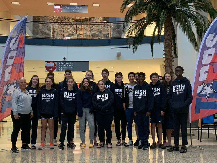 The British International School of Houston won the TAPPS Division II boys swimming championship and finished second in the girls standings at the Houston Regional. Photo: British International School Of Houston / British International School Of Houston