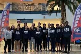 The British International School of Houston won the TAPPS Division II boys swimming championship and finished second in the girls standings at the Houston Regional.