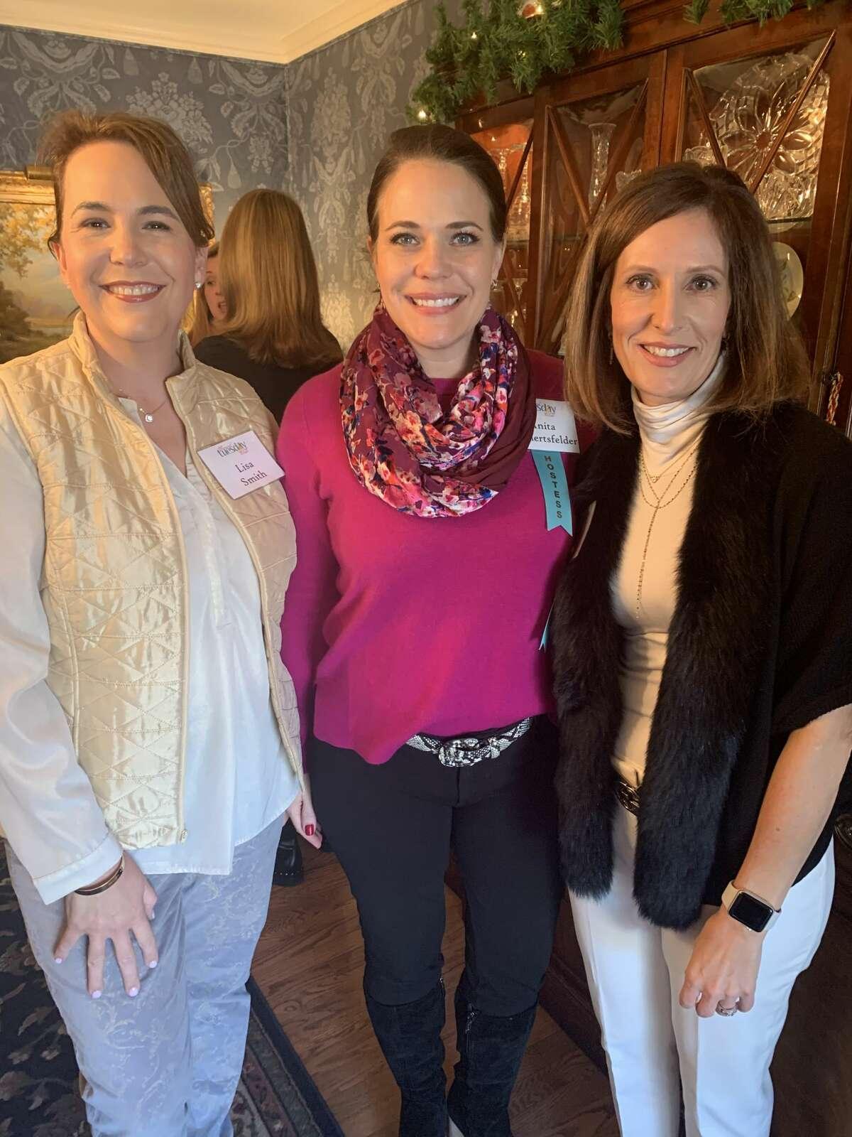 Junior League: Lisa Smith, from left, Anita Gamertsfelder and Apryl McDonald