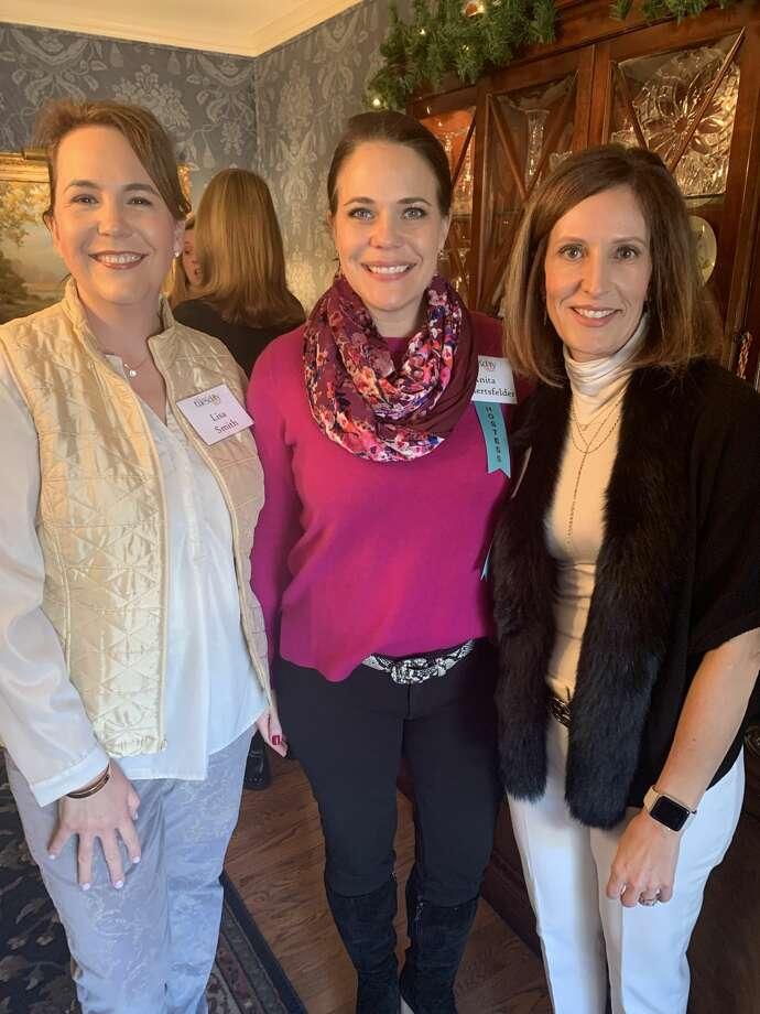 Junior League: Lisa Smith, from left, Anita Gamertsfelder and Apryl McDonald Photo: Courtesy Photo