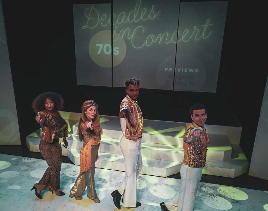 """Decades in Concert: Sounds of the Seventies"" begins a three-week run at Bridgeport's Downtown Cabaret Theatre Jan. 31. Photo: Rui Pinho/dronerct.com"