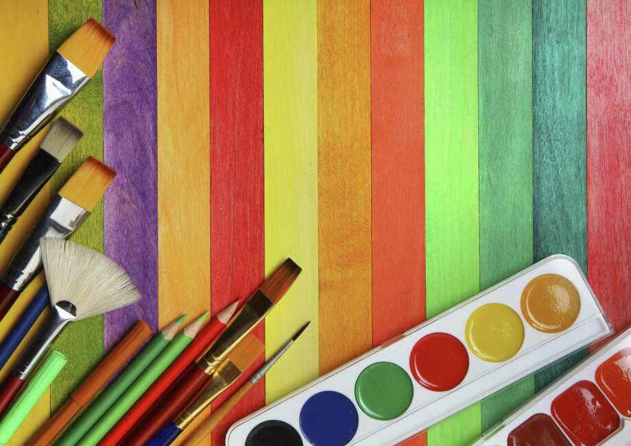 Watercolor classes are offered at the Darien Arts Center. Photo: Contributed Photo