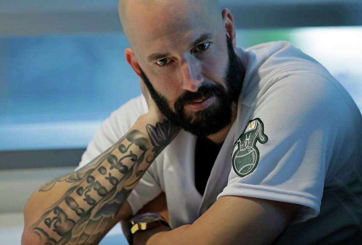 Mike Fiers has not pitched against the Astros since revealing their sign-stealing scheme after the 2019 season.