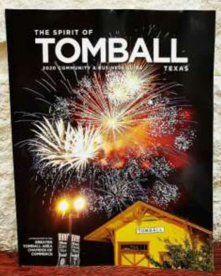 The Greater Tomball Area Chamber of Commerce's 2020 community guide is available for free at the chamber office in Tomball. Photo: Courtesy Of The Greater Tomball Area Chamber Of Commerce / Submitted