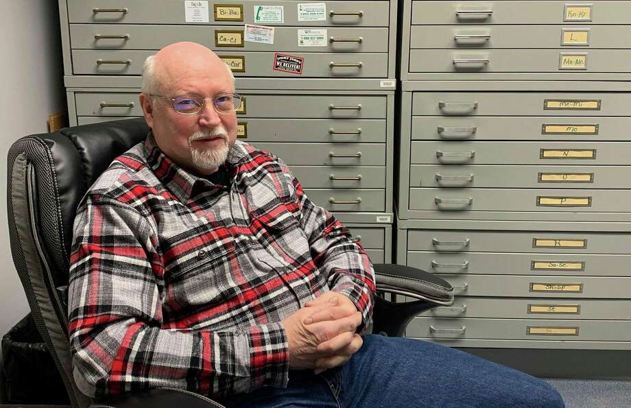 Doug Enos, Midland County drain commissioner, poses for a photo in his office on Jan. 23, 2020. (Mitchell Kukulka/Mitchell.Kukulka@mdn.net)