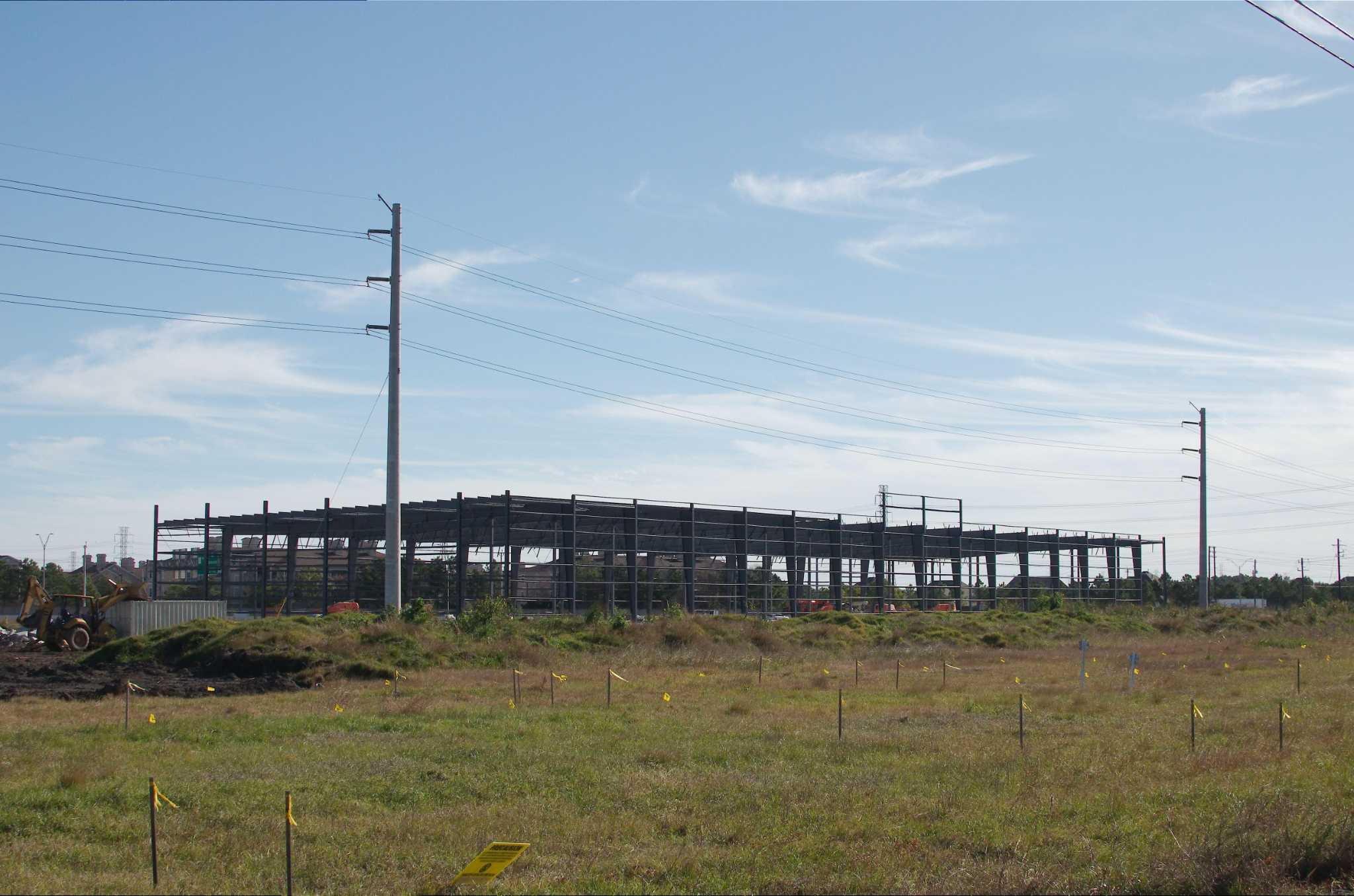 Massive Volleyball Complex Rising In Webster San Antonio