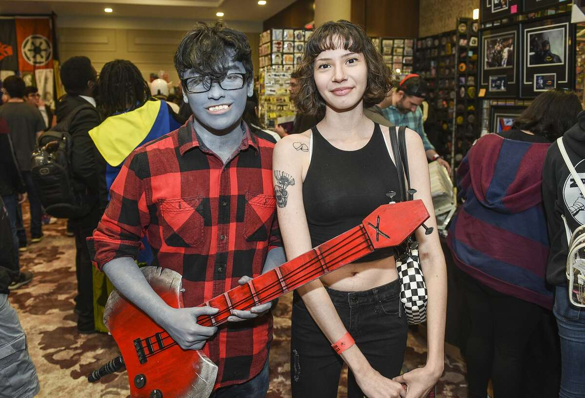 Comic culture fans dress up to experience the 2020 STCE Comic Con, Saturday, Jan. 25, 2020, at the TAMIU Student Center.
