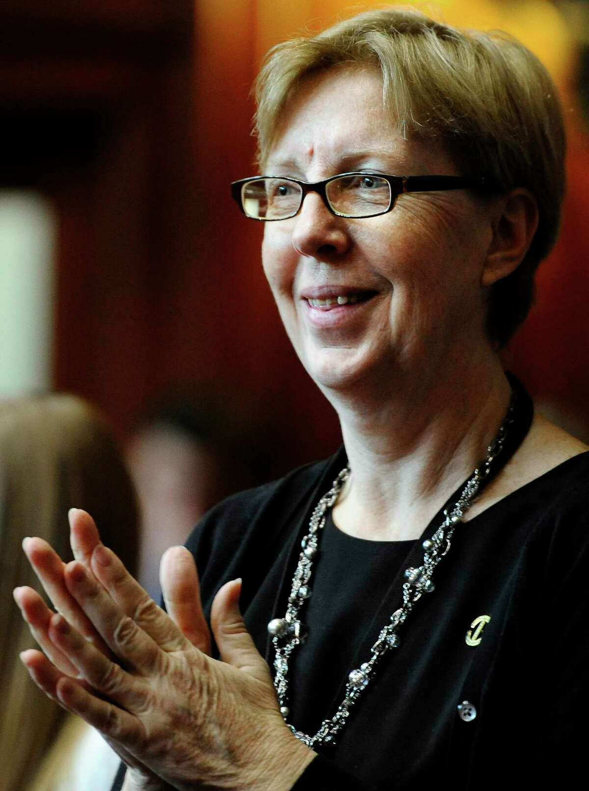 State Sen. Cathy Osten, D-Sprague, wants to require school systems to teach a section on Native American history.