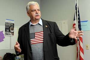 State Representative Bob Godfrey, D-Danbury, said Monday he is leaning toward working to make public a secret state registry of violent felons who are required to update their addresses annually for five years after leaving prison.