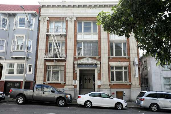 View of 1535 Jackson St. seen on Monday, Jan. 27, 2020, in San Francisco, Calif.. JPMorgan is committing $22 million for Bay Area housing, including helping fund the renovation of affordable housing at 1535 Jackson St.
