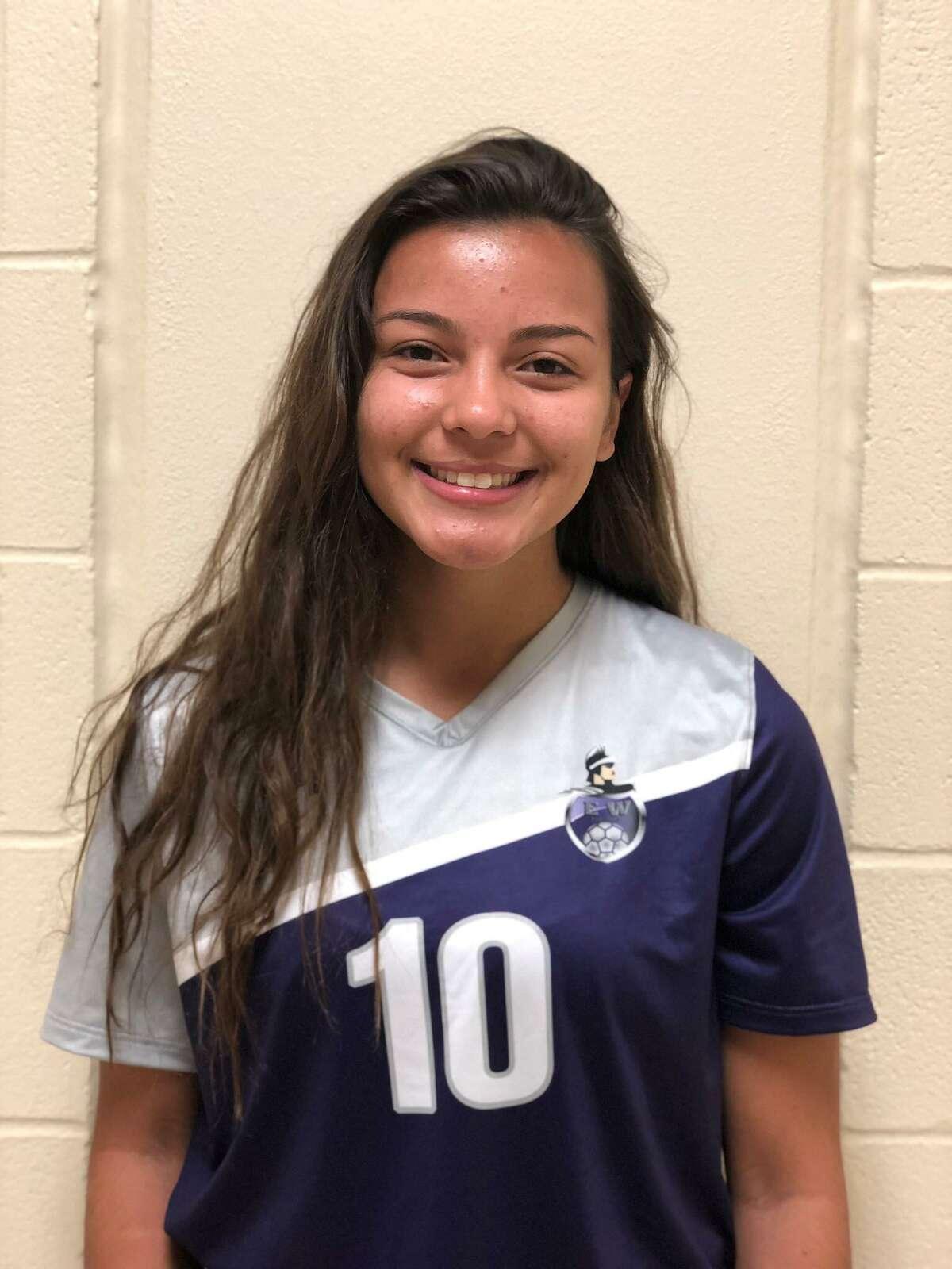 Warren soccer player Alyssa Simien