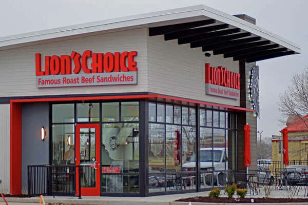 The new Edwardsville Lion's Choice restaurant to open Wednesday. It will be the second one in the Metro East and the first to use the company's new design language.