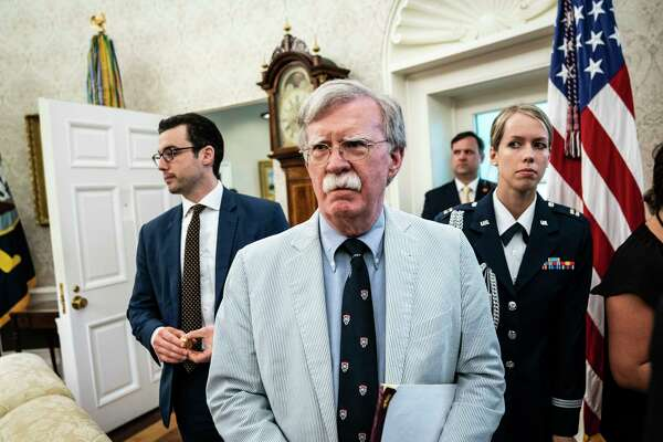 Then-national security adviser John Bolton attends a White House event in July 2019.