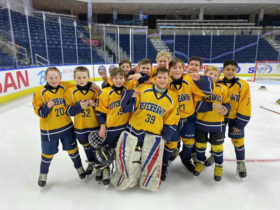 The CT RiverHawks Squirt A team won the Squirt 10U Inaugural CT Ice Tournament. Photo: Contributed Photo / Connecticut Post