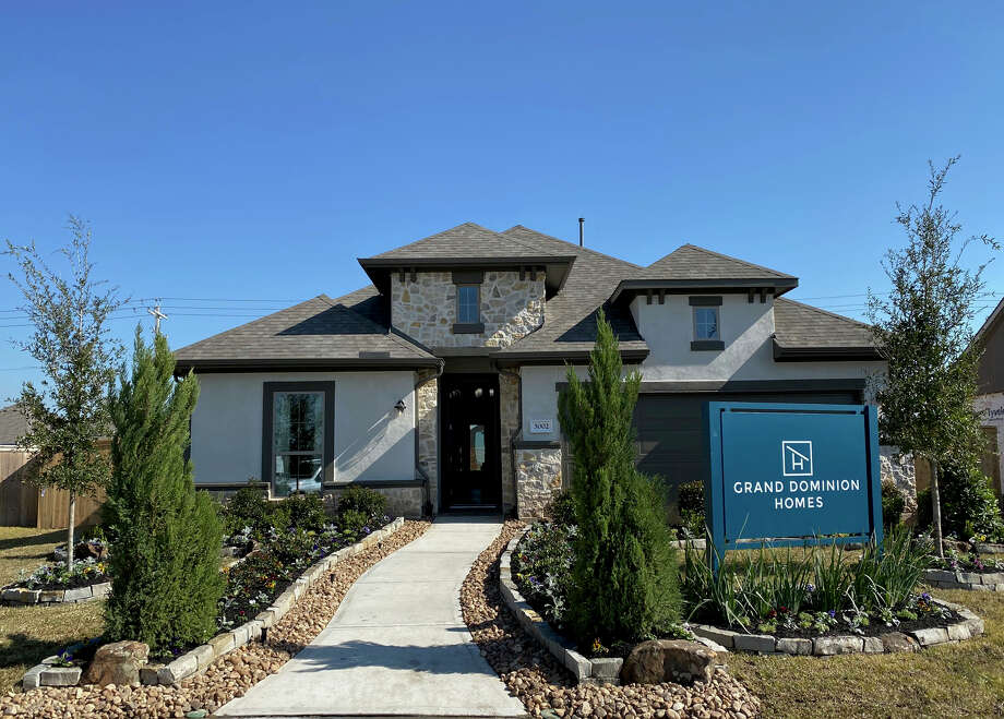 Grand Dominion Homes launches sales in Lago Mar in Texas City in late 2019. Photo: Grand Dominion Homes