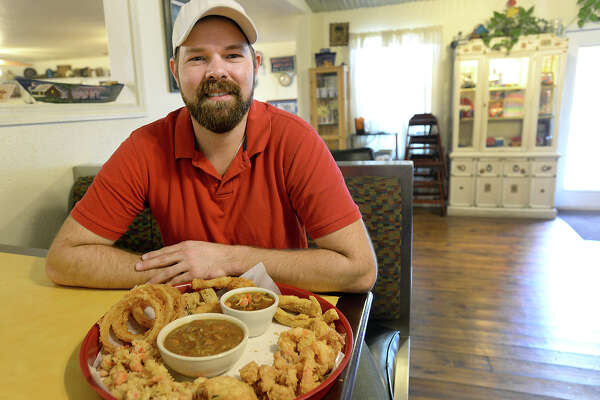 Nicholas Vautrot is following his Cajun roots and family traditions, serving up classics such as gumbo, etouffee, gator bites and more at Vautrot's Cajun Cuisine, located on Texas 105. Photo taken Wednesday, September 17, 2014 Kim Brent/@kimbpix