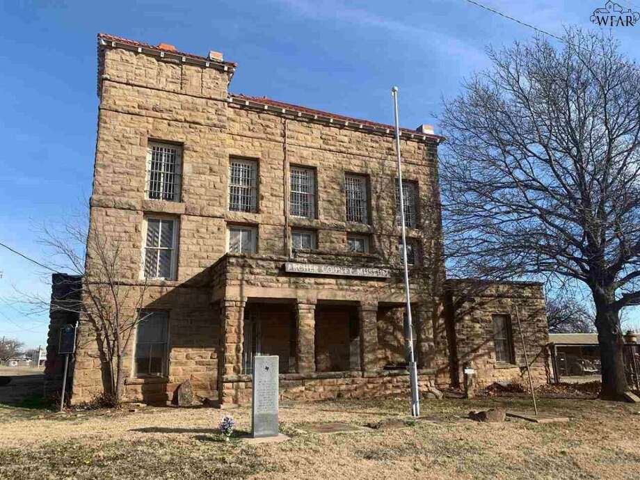 The historic Archer County Jail building is on the market in west Texas. Photo: Bishop Realtor Group