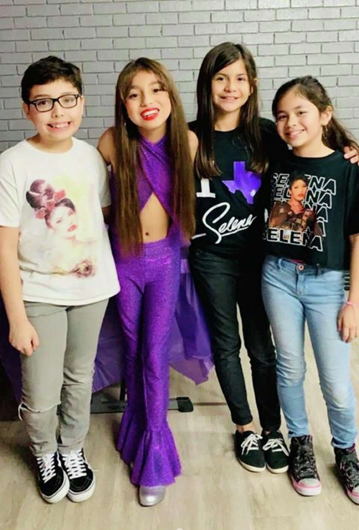 Reiyna Rodriguez brought Selena to life for her 11th birthday party.