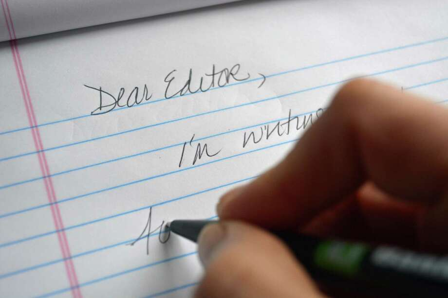 Letter to the editor Photo: Hearst Connecticut Media Photo