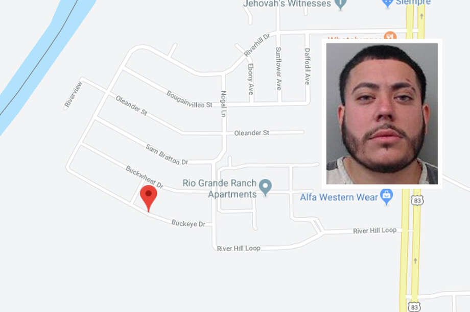 A man punched his common-law wife in the face because she refused to take him back, according to Laredo police. Photo: Google Maps/Street View