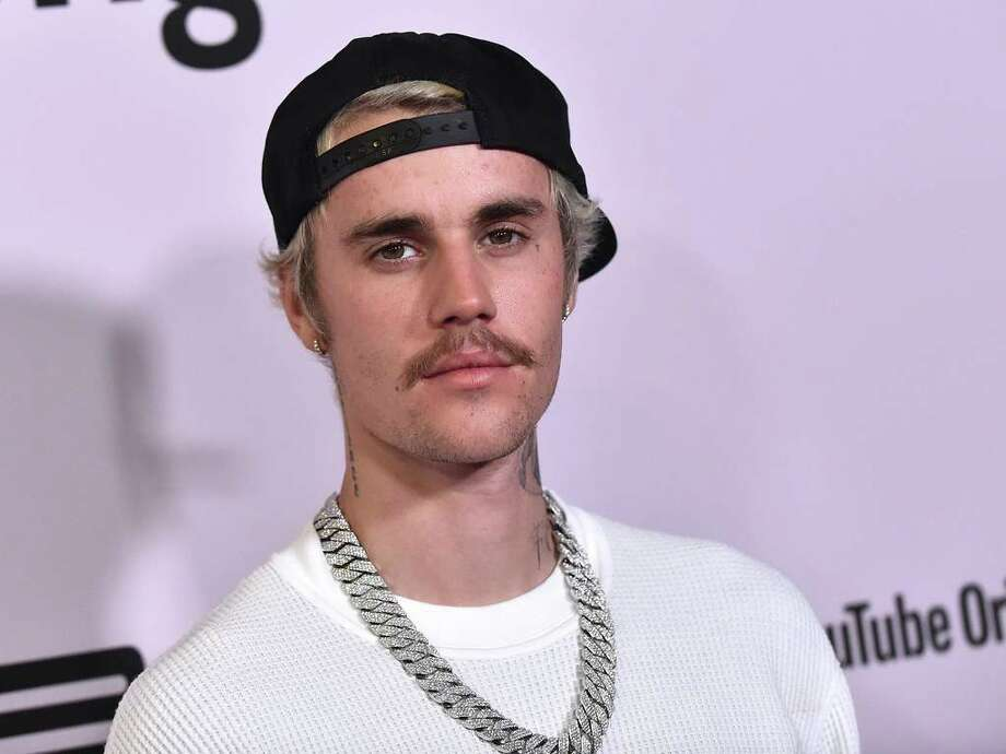 "Canadian singer Justin Bieber arrives for YouTube Originals' ""Justin Bieber: Seasons"" premiere at the Regency Bruin Theatre in Los Angeles on January 27, 2020. (Photo by LISA O'CONNOR / AFP) Photo: LISA O'CONNOR, AFP Via Getty Images / AFP or licensors"
