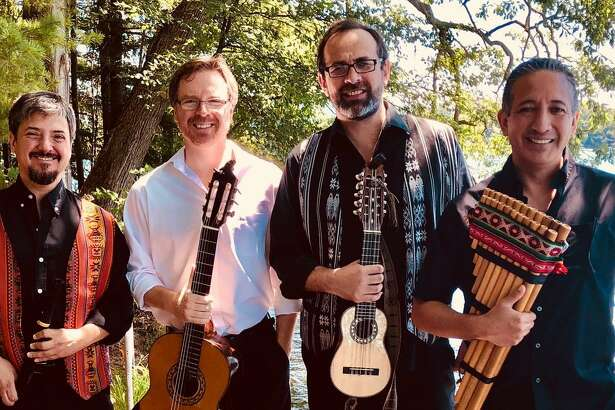 The Crescendo Vocal Ensemble is joined Feb. 1 by Alturas Duo (Carlos Boltes, charango and viola, Scott Hill, guitar) and Gonzalo Cortes (quena, zampoña and percussion), as well as tenor and quena player Ignacio Ugarte from Barcelona, Spain. Christine Gevert directs from the organ, with Hideki Yamaya on theorbo.