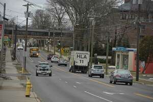 Looking down White Street to its intersection with Eighth Avenue. The City of Danbury is planning improvements to a number of areas of White Street. Tuesday, January 28, 2020, in Danbury, Conn.