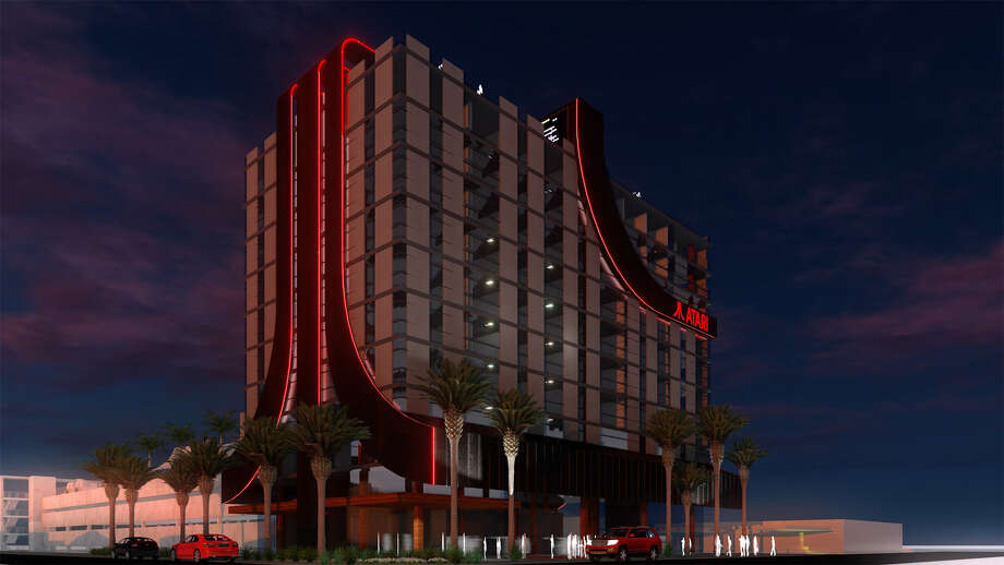 A rendering of an Atari Hotel. Photo: Courtesy Atari Hotels