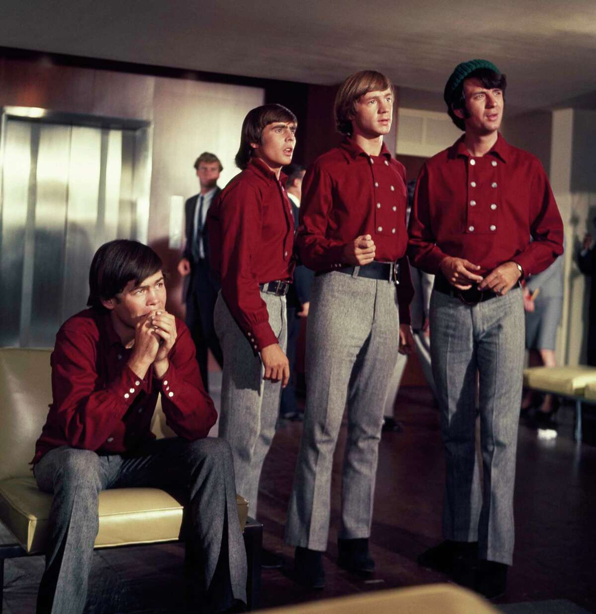 From left, Micky Dolenz, Davy Jones, Peter Tork and Michael Nesmith in the 1960s NBC TV show.