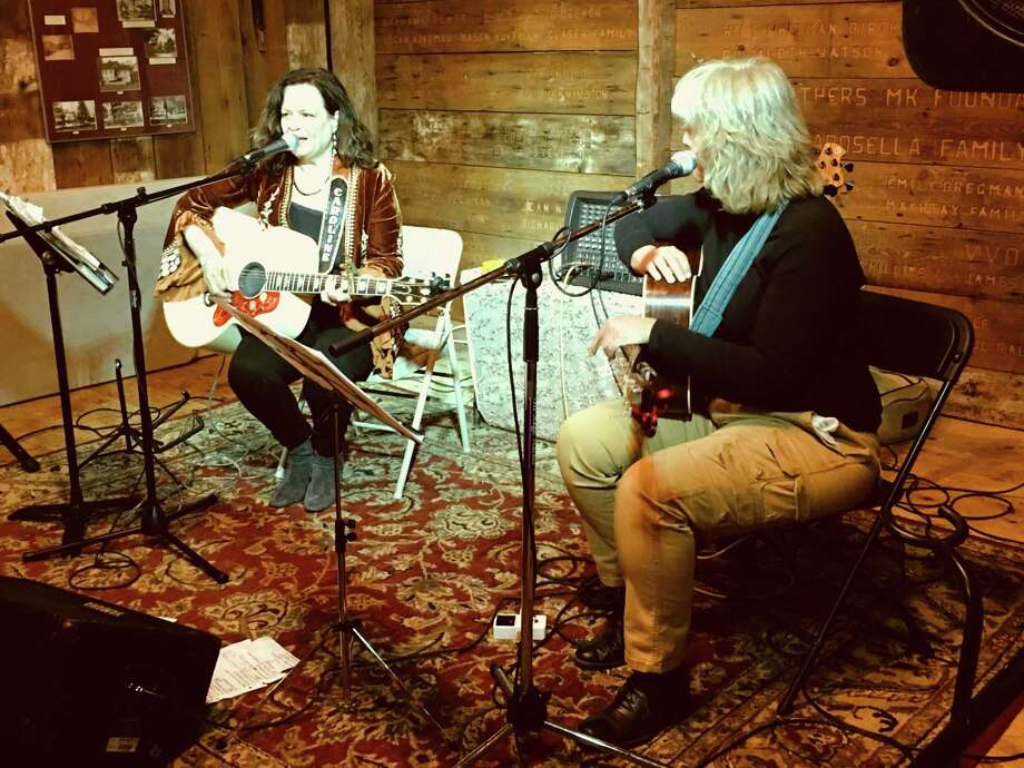 Caroline Doctorow andCathy Kregerare performing Feb. 1 at the Buttonwood Tree in Middletown. Photo: Contributed Photo
