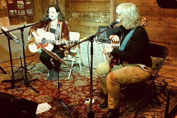 Caroline Doctorow and Cathy Kreger are performing Feb. 1 at the Buttonwood Tree in Middletown.