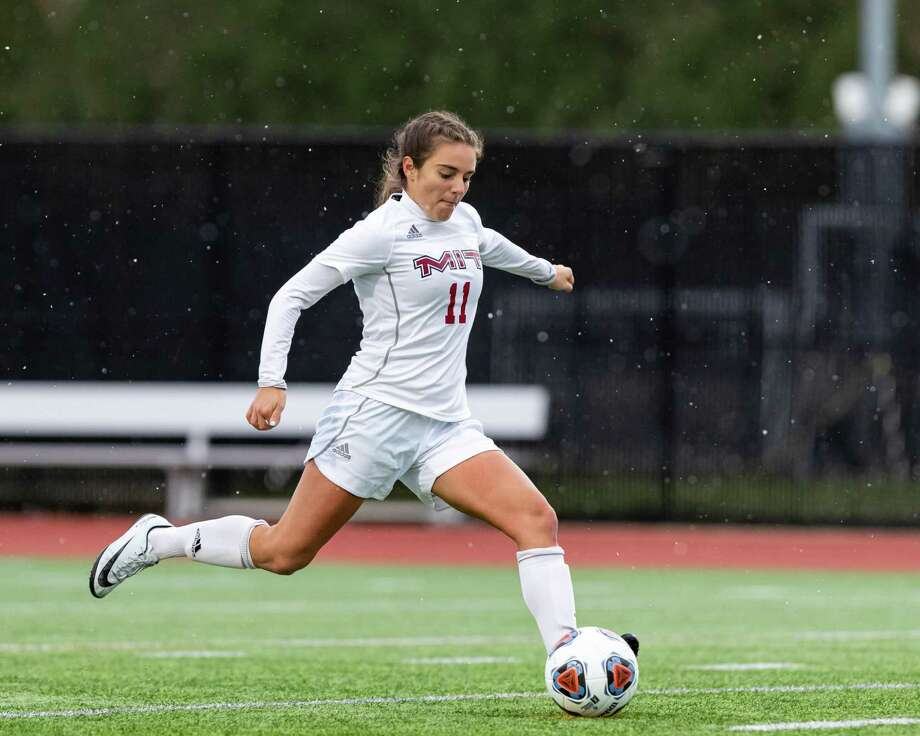 Emily Berzolla, a Greenwich High School graduate, earned All-America honors from the United Soccer Coaches Association and D3Soccer.com All-America Second Team accolades after excelling for the MIT women's soccer team. Photo: Photo Courtesy Of MIT Athletic Department / ©NCAA 2019