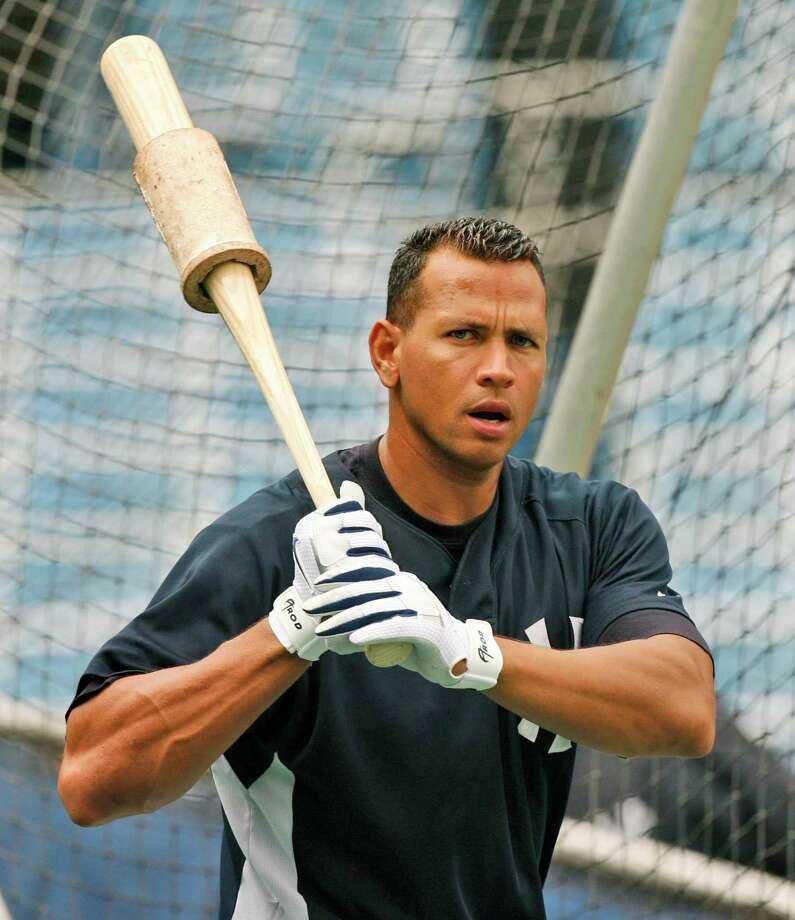 In 2007, New York Yankees' slugger Alex Rodriguez warms up during batting practice. A reader says it would be a tall order to punish every athlete who went outside the lines to win. Photo: Associated Press File Photo / AP