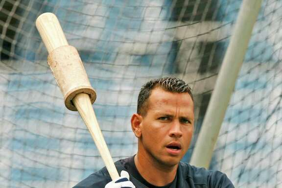 In 2007, New York Yankees' slugger Alex Rodriguez warms up during batting practice. A reader says it would be a tall order to punish every athlete who went outside the lines to win.