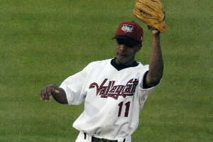 New ValleyCats manager Wladimir Sutil batted .325 as a Tri-City infielder in 2005.(Times Union archive)