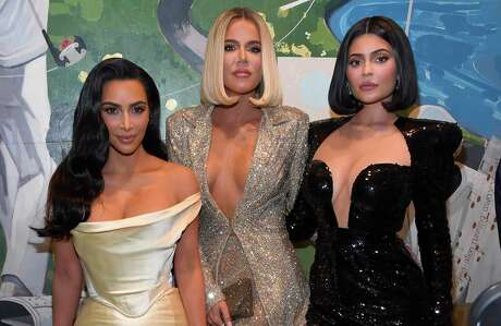 Kim Kardashian West, Khloe Kardashian, and Kylie Jenner attend Sean Combs 50th Birthday Bash presented by Ciroc Vodka.