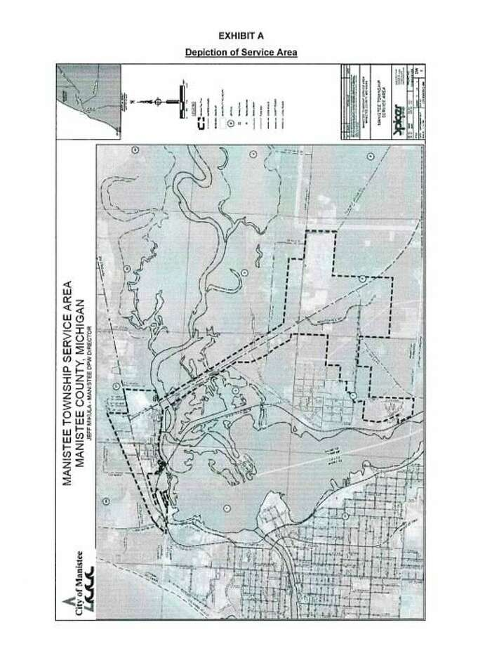 Manistee City Council unanimously approved a sanitary sewer service agreement with Manistee Township at its last council meeting Jan. 21, and the township board approved the agreement during its December meeting.(Image courtesy of Manistee City Council)
