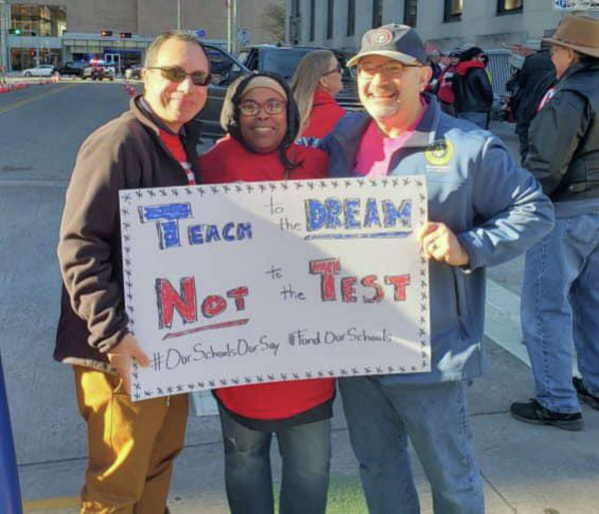 Jon Rosenthal, representative for Texas House District 135, is an advocate for teacher unions and rights for educators.