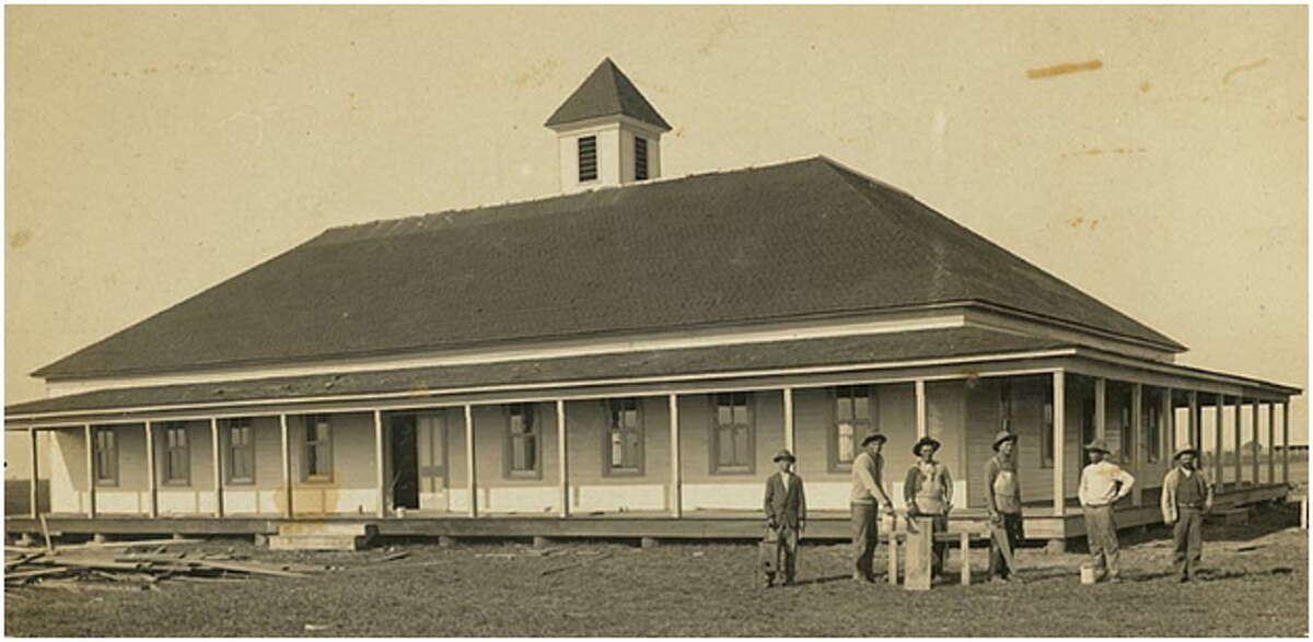 Fairchilds Hall in Fort Bend County was being built in 1912.