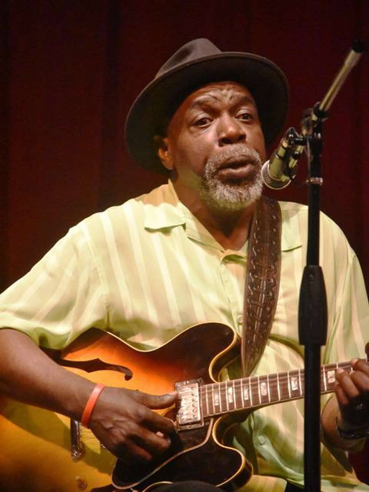 Chicago legend Lurrie Bell is playing at Black-Eyed Sally's on Friday.