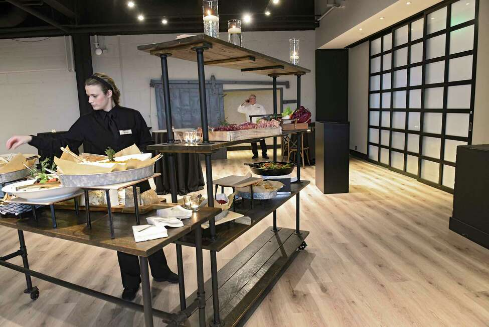 Loft 433 had a ribbon cutting event to show the new event space on Tuesday, Jan. 28, 2020 in Troy, N.Y. The new space has on-site catering provided exclusively by Mazzone Hospitality. (Lori Van Buren/Times Union)